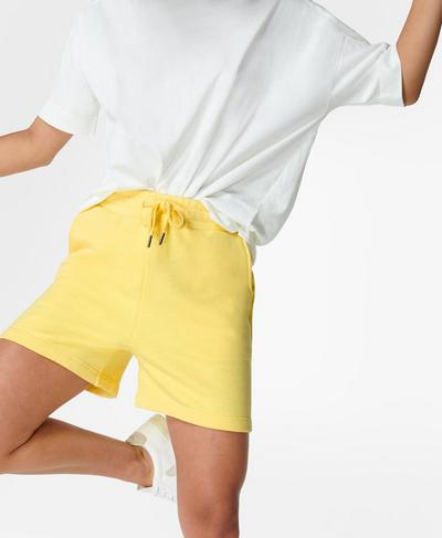 Essentials Shorts, Riviera Yellow | Sweaty Betty