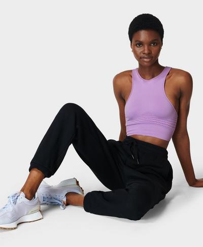 Essentials Taper Pants, Black | Sweaty Betty