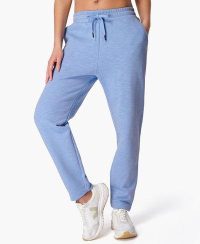 Essentials Taper Trouser, Coast Blue | Sweaty Betty