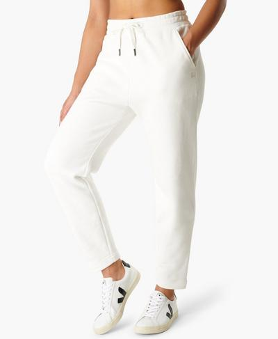 Essentials Taper Pants, Lily White | Sweaty Betty