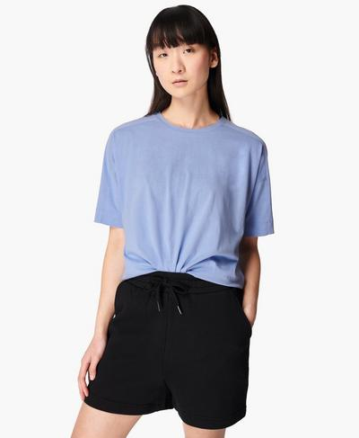 Essentials T-Shirt, Coast Blue | Sweaty Betty