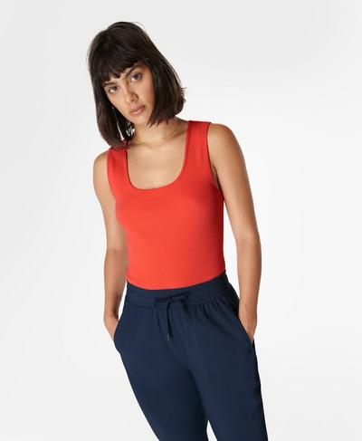 Everyday Vest, Pentas Red | Sweaty Betty