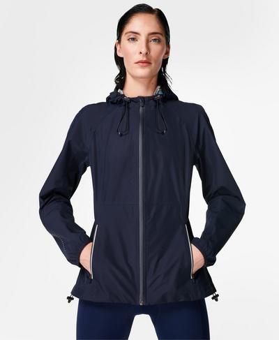 Commuter Cycling Jacket, Navy Blue | Sweaty Betty
