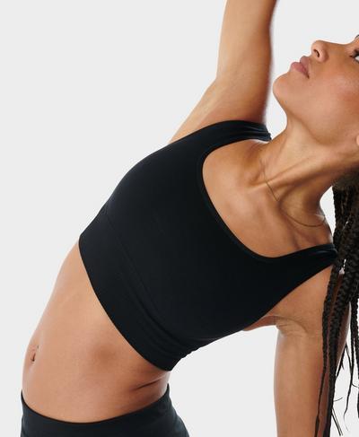Balance Seamless Bra, Black | Sweaty Betty
