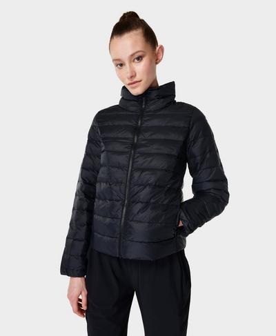 Pathfinder Packable Jacket, Black | Sweaty Betty
