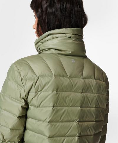 Pathfinder Packable Jacket, Moss Green   Sweaty Betty