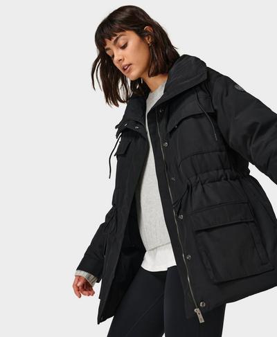 Utility Jacket, Black | Sweaty Betty