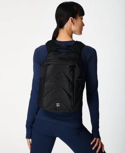 Running Backpack, Black | Sweaty Betty