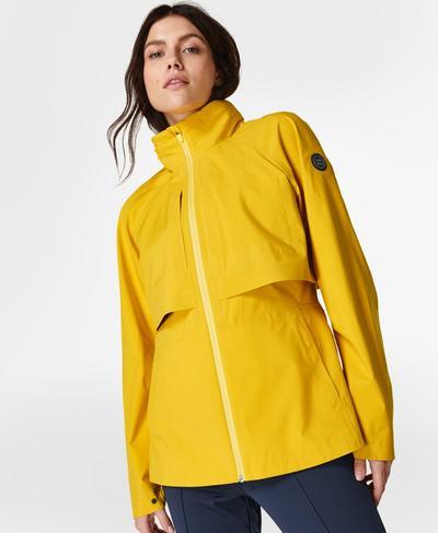 Pro Light Ski Jacket, Aspen Yellow | Sweaty Betty