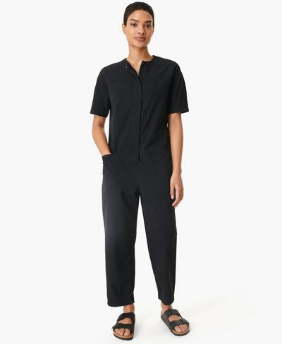 Agile Overall, Black | Sweaty Betty
