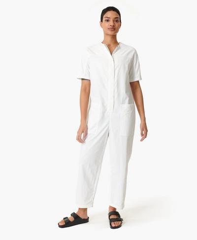 Agile Overall, White | Sweaty Betty