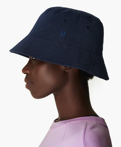 Bucket Hat, Navy Blue | Sweaty Betty