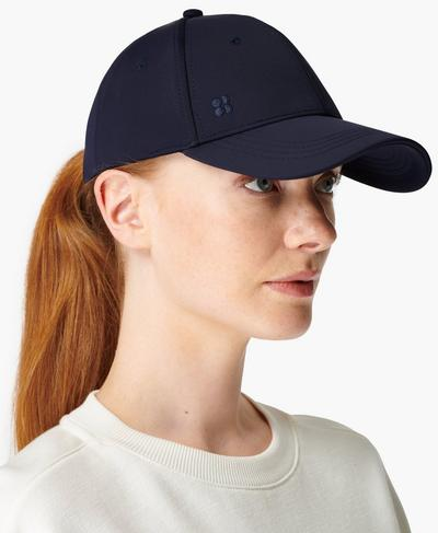 Icon Cap, Navy Blue | Sweaty Betty