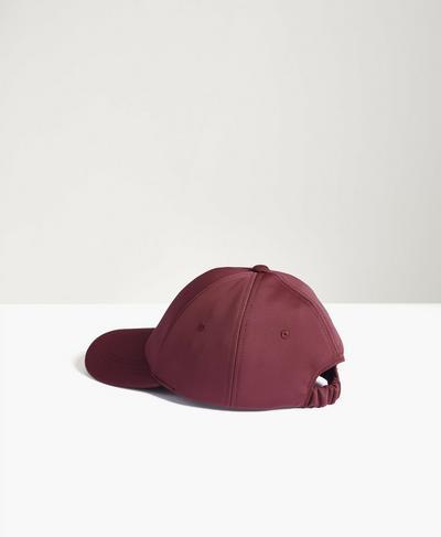 Icon Cap, Plum Red | Sweaty Betty