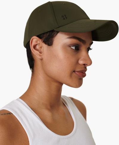 Icon Cap, Uniform Green | Sweaty Betty