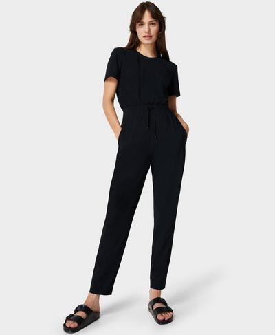 Explorer Jumpsuit, Black | Sweaty Betty