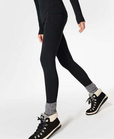 Betty Ski Base Layer Leggings, Black | Sweaty Betty