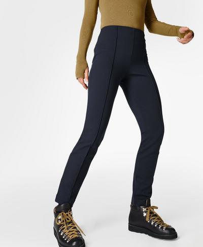 "9-9 Slim Leg Pant 27"", Black | Sweaty Betty"