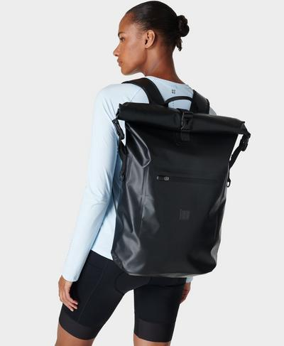 Cycling Backpack , Black | Sweaty Betty