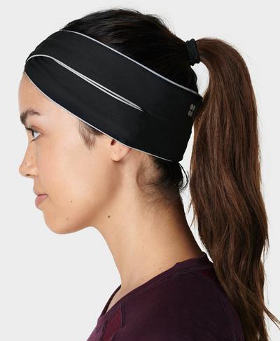 Jersey Headband, Black | Sweaty Betty
