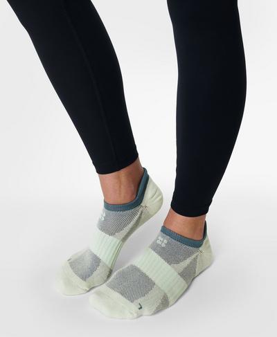 Technical Run Sock 2 Pack, Glacier Green | Sweaty Betty