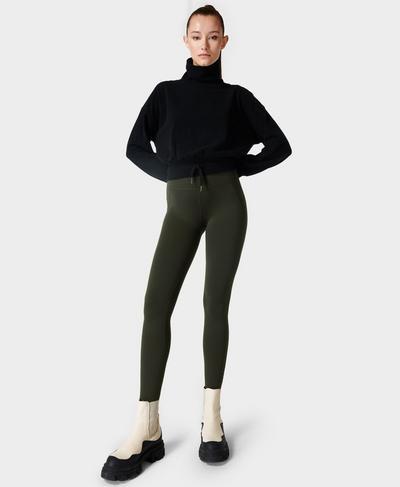 All Day Gym Leggings, Dark Forest Green | Sweaty Betty