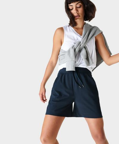 Explorer Shorts, Navy Blue | Sweaty Betty