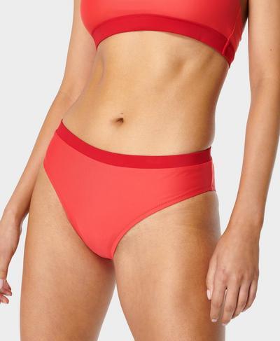 Harlyn Bikini Bottom, Pentas Red | Sweaty Betty