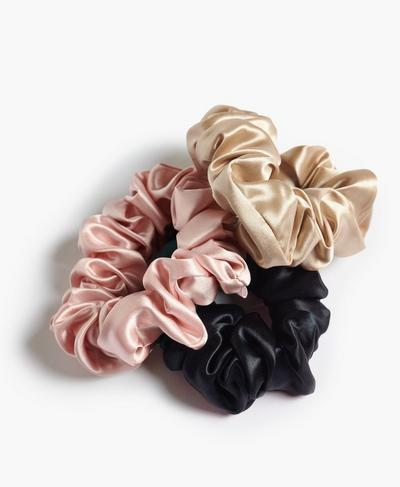 Slip Scrunchie Large 3 Pack, Multi | Sweaty Betty