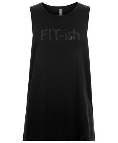 Flow Workout Tank, Black | Sweaty Betty
