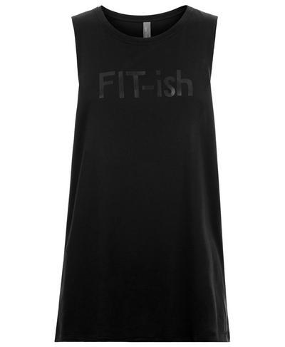 Flow Yoga Tank, Black | Sweaty Betty