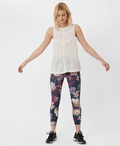 Flow Tank, Westfjords White | Sweaty Betty