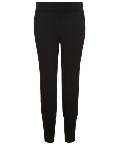 Garudasana Yoga Capris, Black | Sweaty Betty