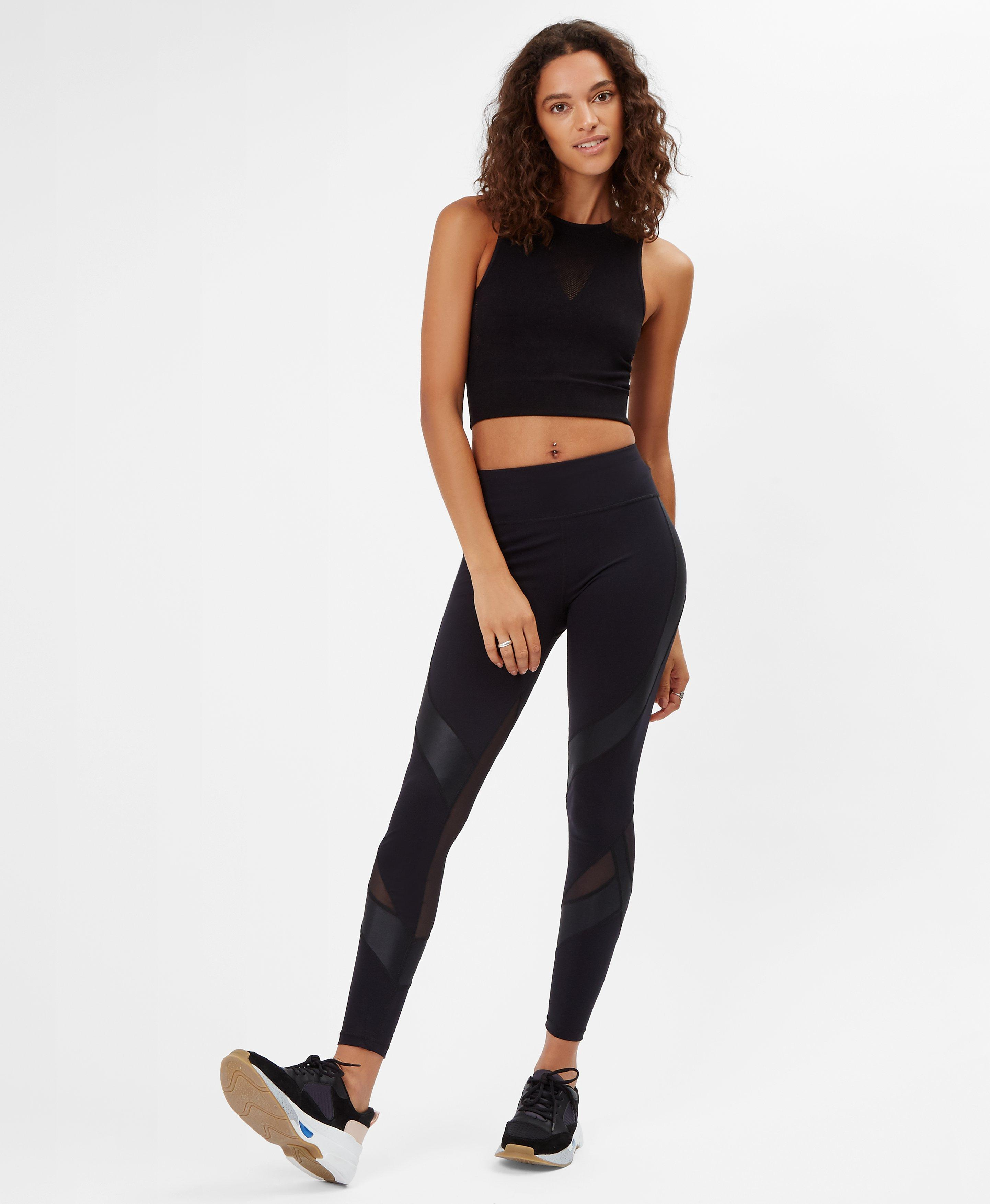 Power Black Mesh Set,  | Sweaty Betty