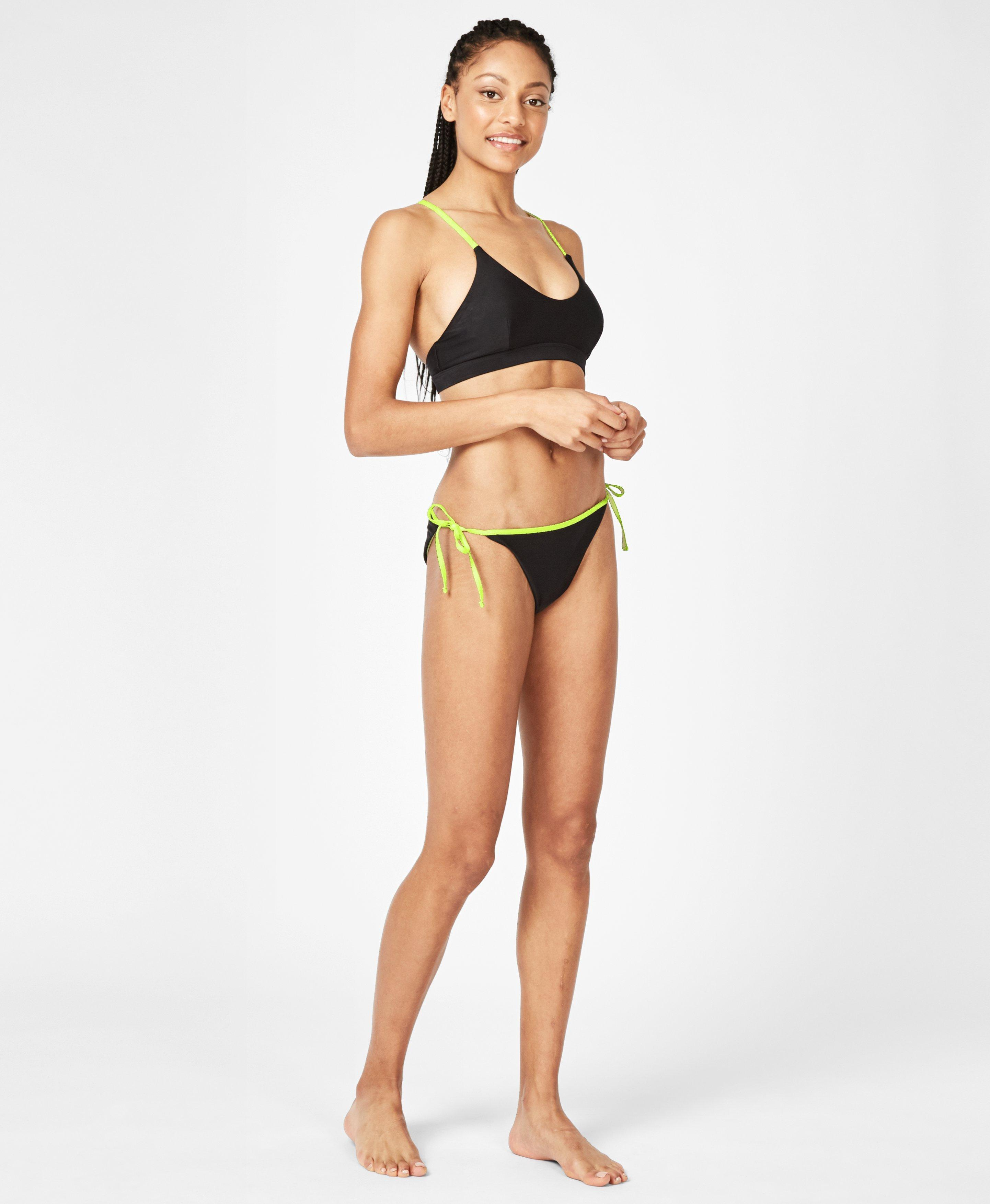 Lagoon Black Neon Bikini Set,  | Sweaty Betty
