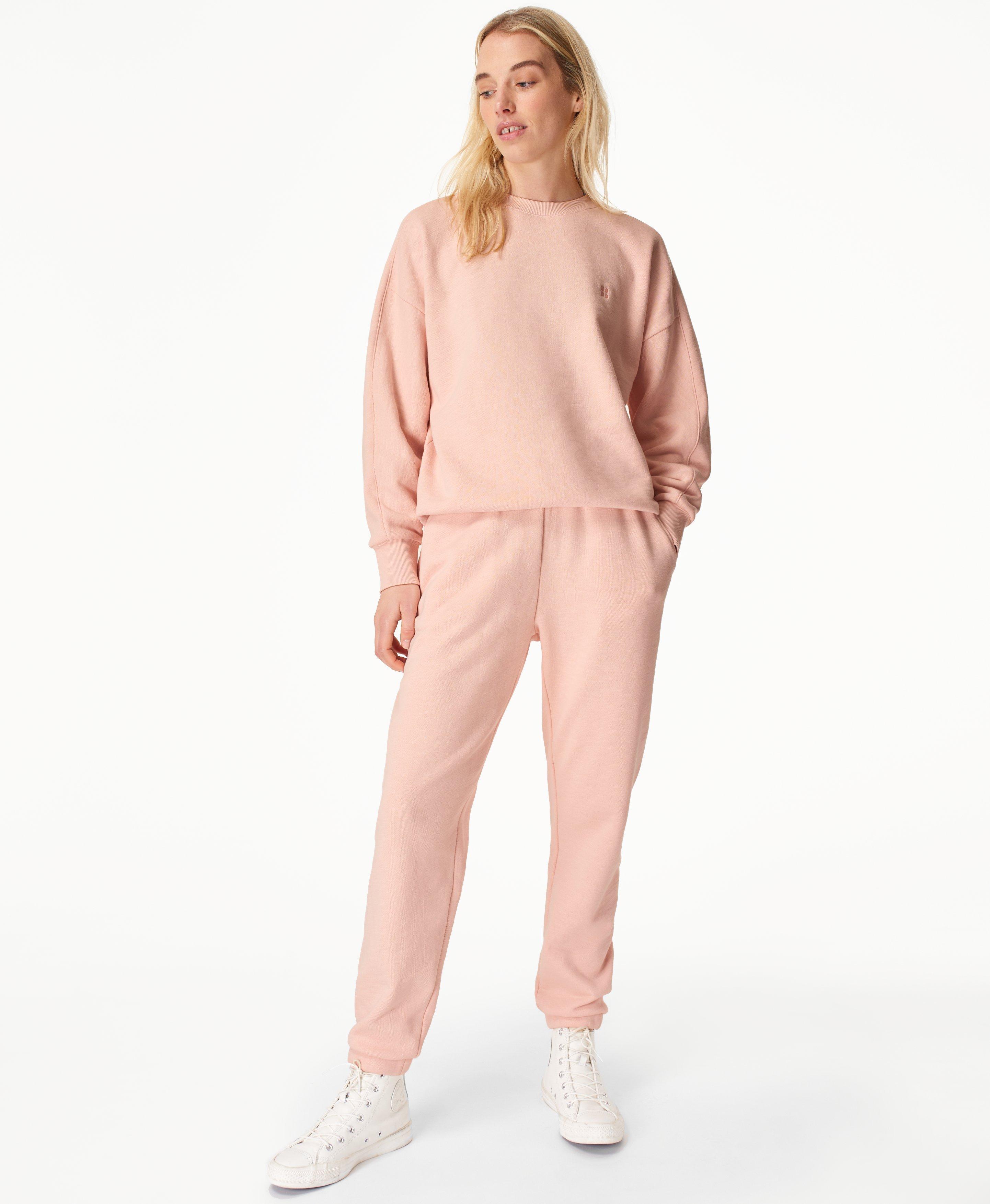 Essentials Sweat Set Antique Pink,  | Sweaty Betty