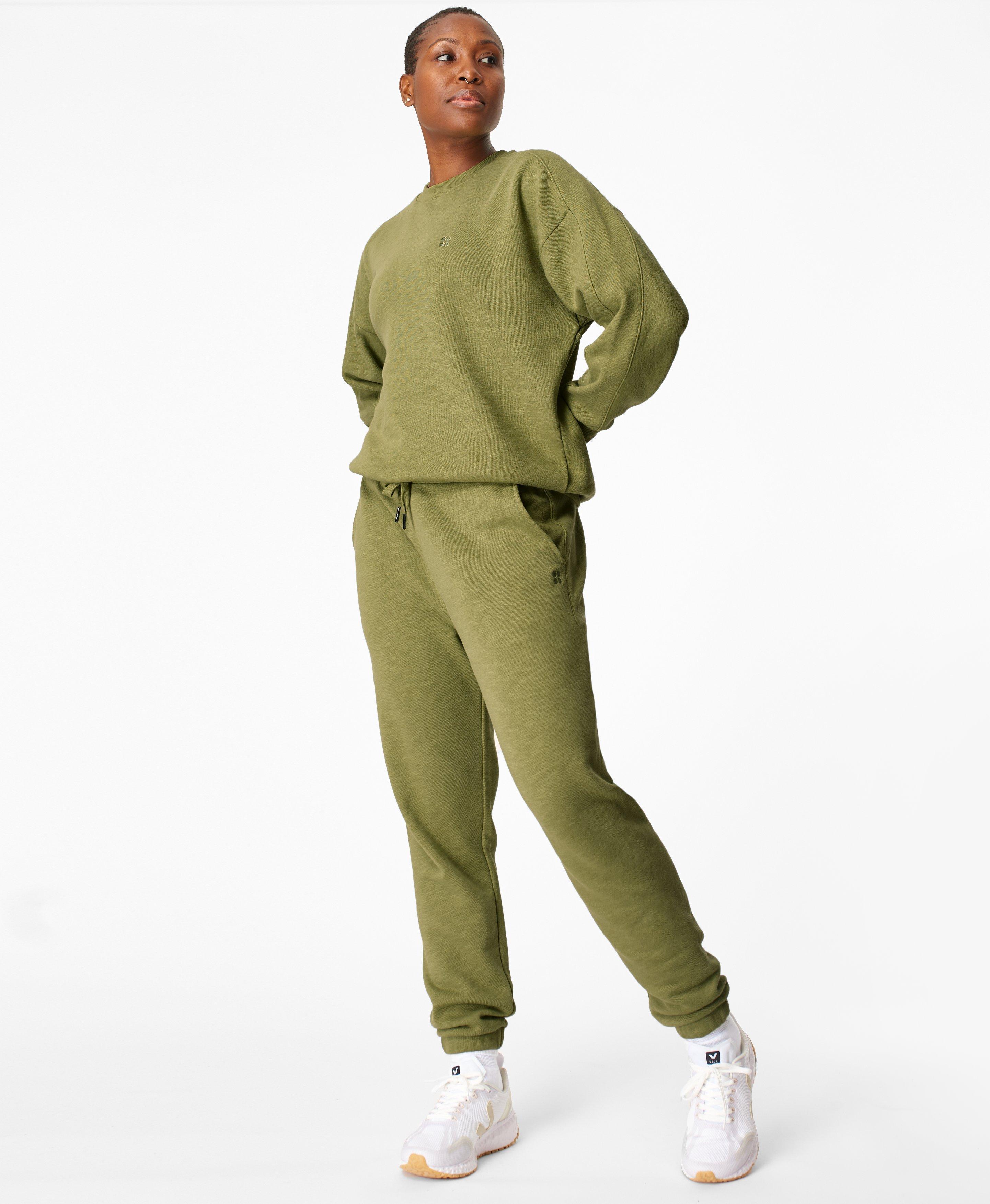 Essentials Sweat Set Fern Green,  | Sweaty Betty