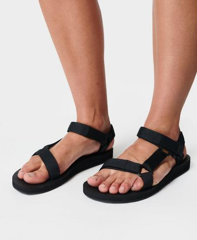 Teva Original Universal Sandals, Black | Sweaty Betty