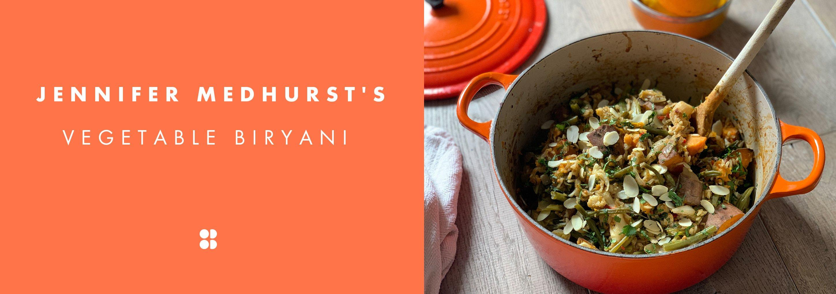Jennifer Medhurst's Vegetable Biriyani