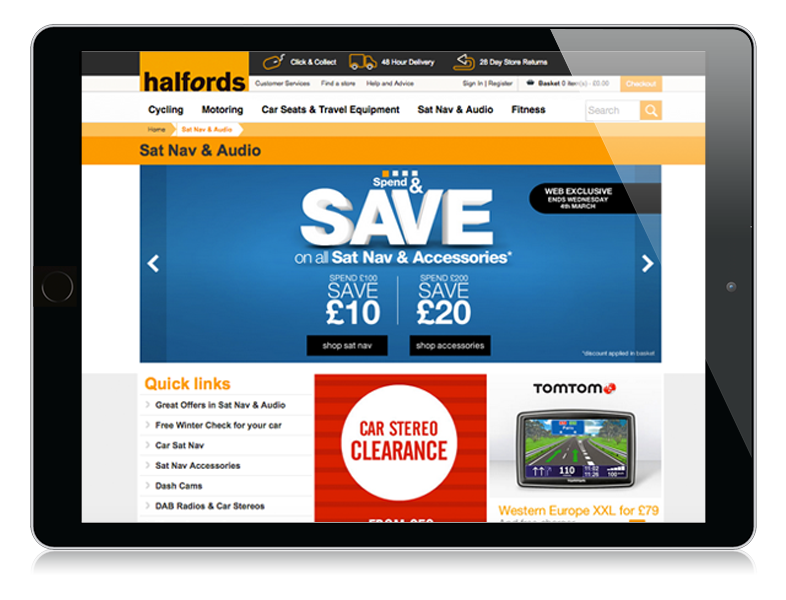 case study halfords Segmentation is the key to personalising every aspect of the customer journey tony rivenell, chief digital officer, halfords established in 1902, halfords.