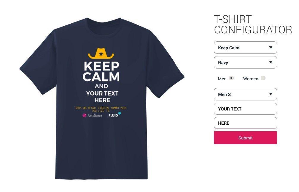 T-Shirt-Configurator