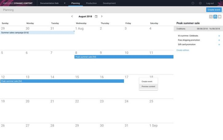 Right-click anywhere outside an existing event in the calendar to create a new one
