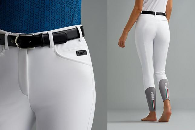 Women's White Speranza Breeches