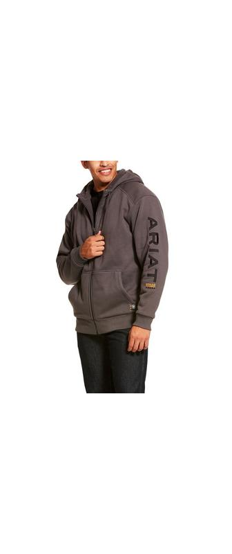 Rebar All-Weather Full Zip Hoodie