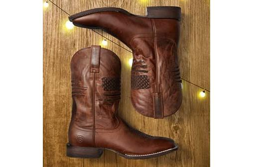 Men's Ariat Circuit Patriot Western Boot