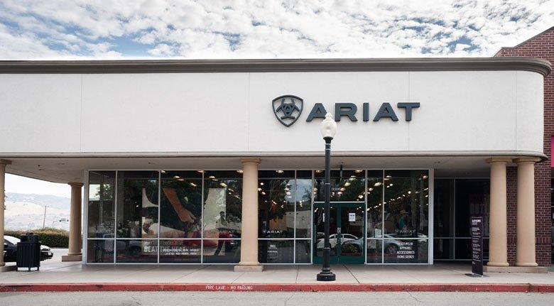 ariat gilroy outlet storefront