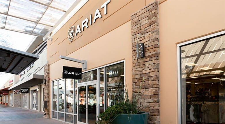 ariat phoenix brand outlet storefront