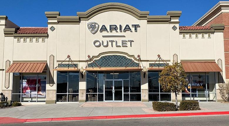 ariat el paso brand outlet storefront