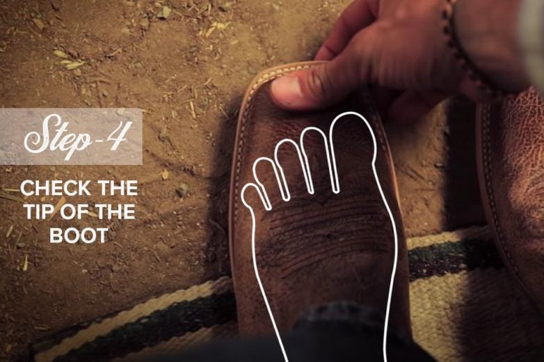 How to Fit Cowboy Boots Ariat Step 4