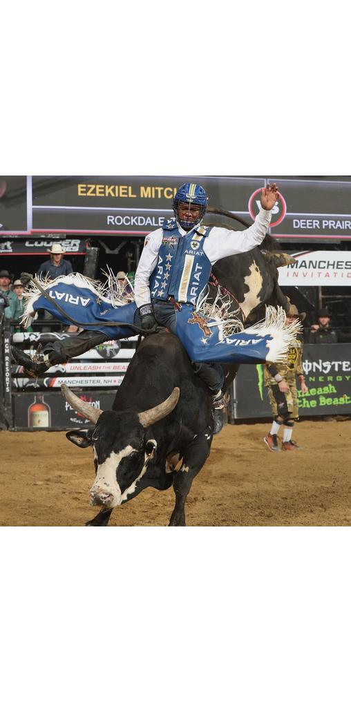 Ariat Athlete and Professional Bull Rider Ezekiel Mitchell